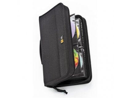 Case Logic pouzdro na 64 + 8 CD/DVD