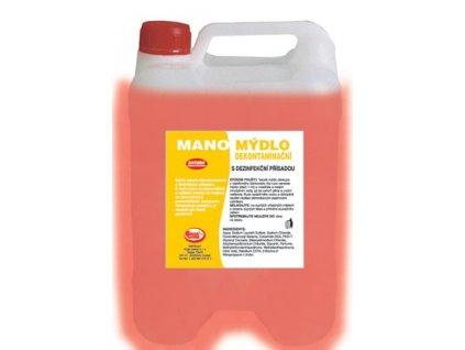 Tekuté mýdlo růžové 5l