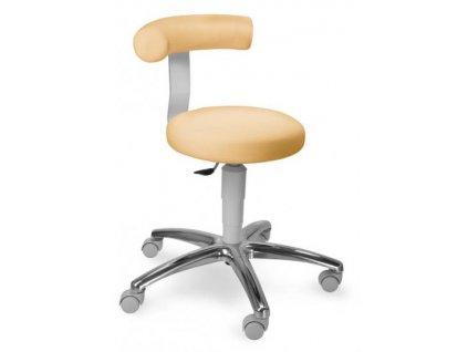 Zdravotnická židle otočná s opěrkou KVĚTA