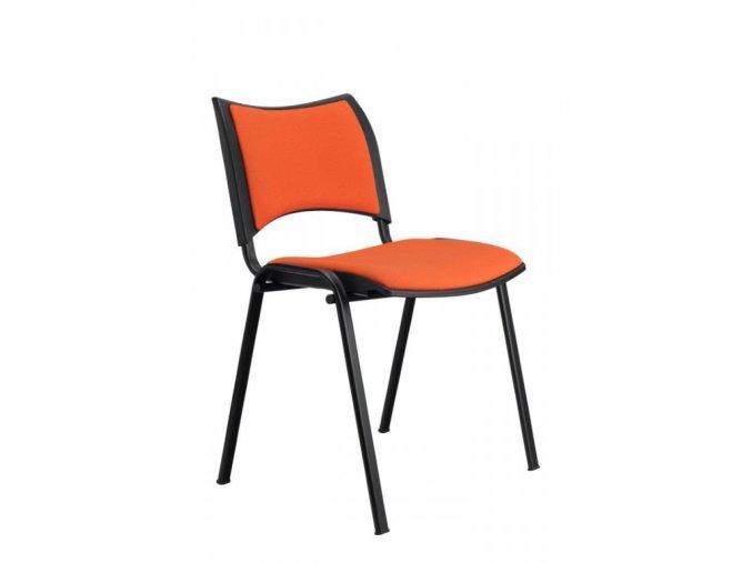 Konferenční židle ALBA SMART čalouněná, stohovatelná