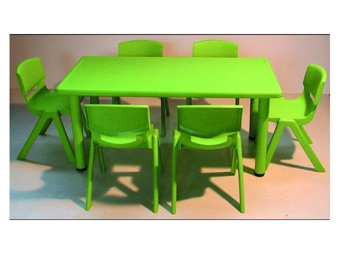 Školní stůl obdélníkový pro MŠ