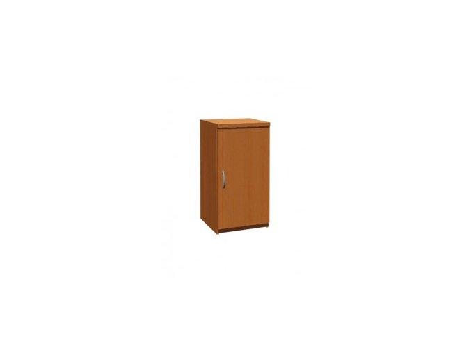 MEDIC 4 jednodvéřová zdravotnická skříň úzká P/L, 1 police, 1 dveře