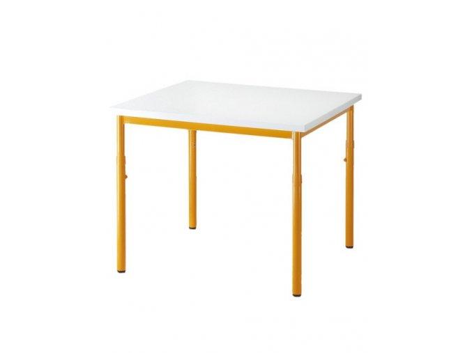 Školní stůl 600 x 600, pevný