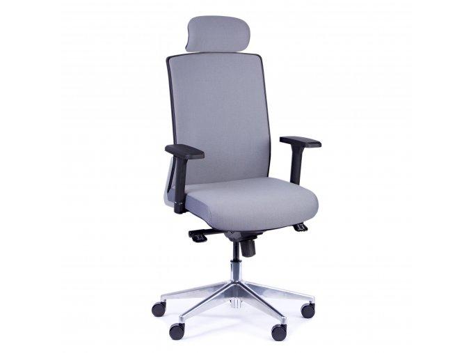 Kancelářská židle Krista s područkami nosnost 150 kg