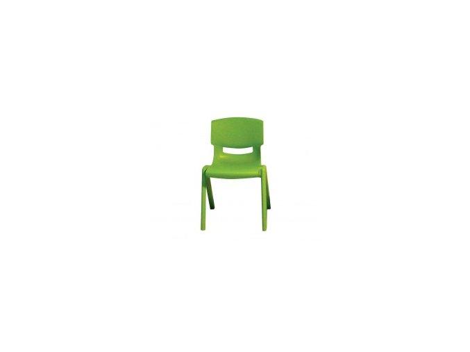 Plastová židle pro MŠ výška 26 cm