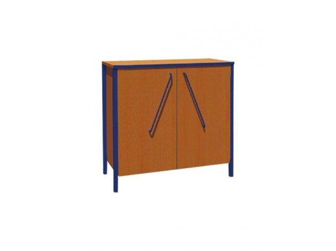 Školní skříň nízká dvoudveřová ALEŠ
