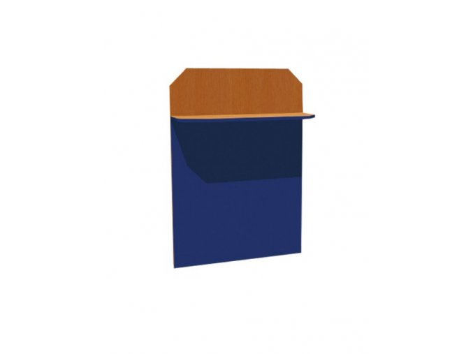 Školní nástěnka jednopolicová s magnet. tabulí KRYŠTOF