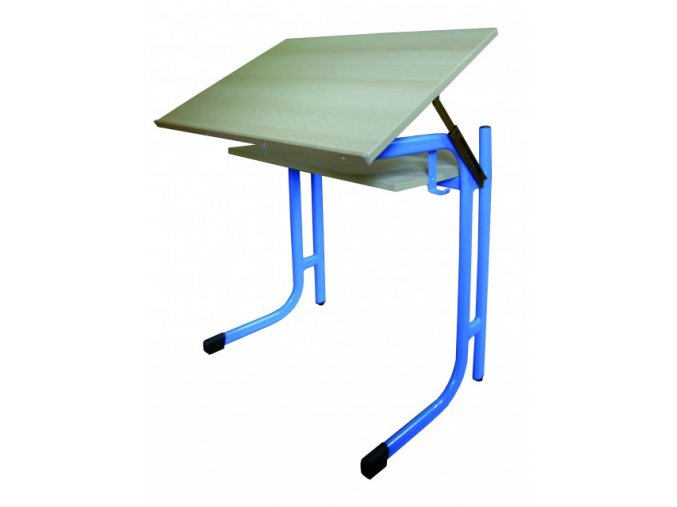 Školní lavice polohovatelná