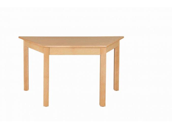 Dětský stůl NATÁNEK trapézový 120x60 cm