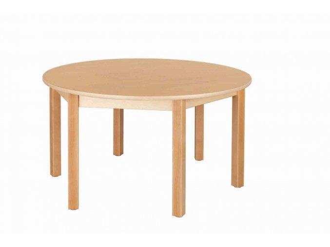 Dětský stůl NATÁNEK kulatý průměr 120 cm
