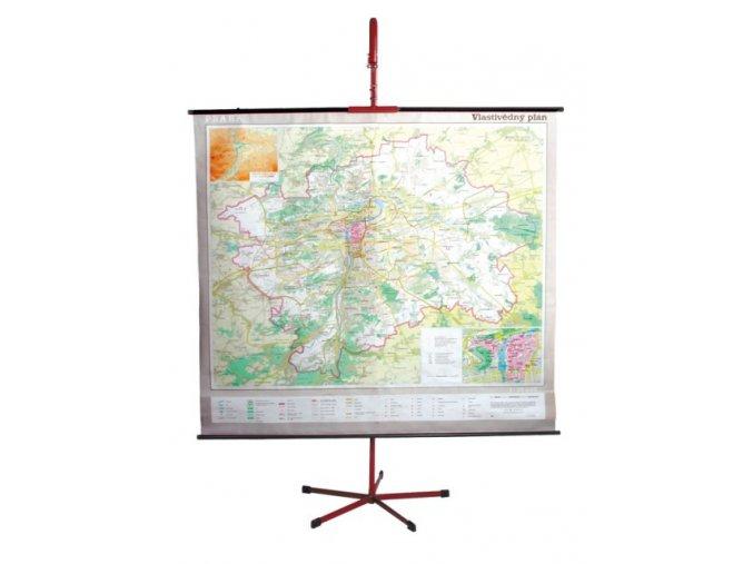 Školní držák na mapu