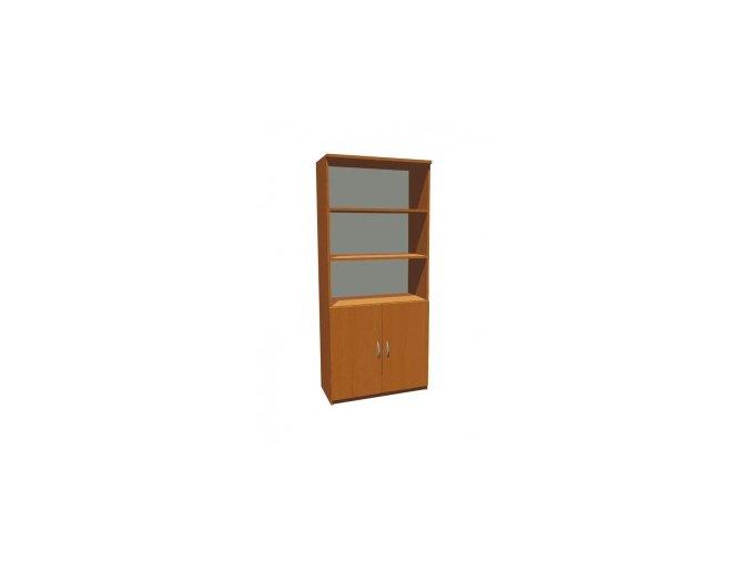 MEDIC 3 dvoudvéřová zdravotnická skříň, 4 police, 2 dveře
