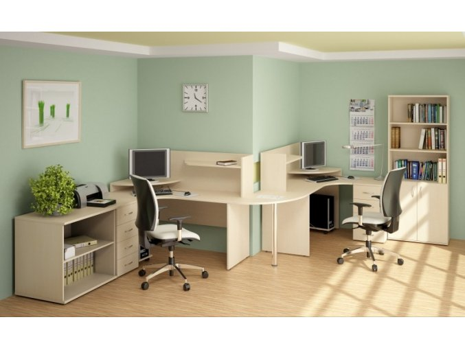 kancelarsky nabytek sestava impress 8