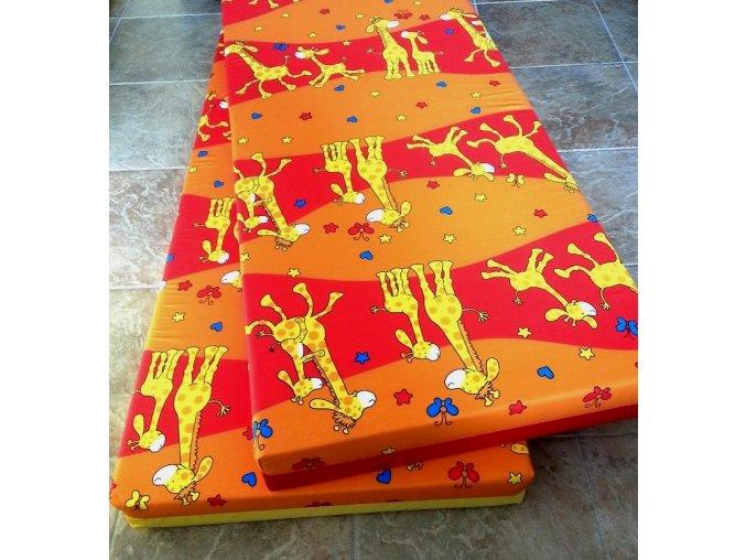 Molitanové lehátko DANDY žirafa
