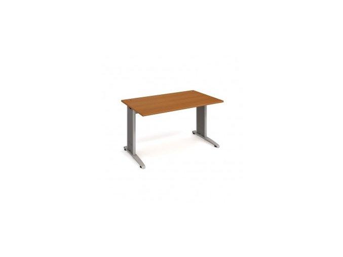 Psací stůl do ordinace MEDIC 3 rovný 180 cm kovová podnož