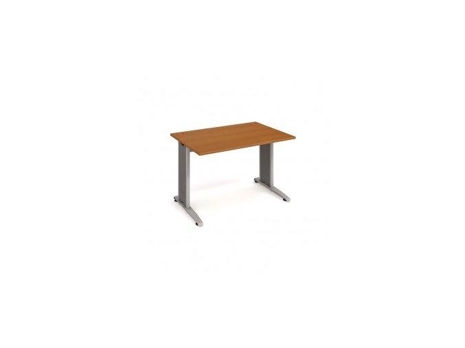 Psací stůl do ordinace MEDIC 3 rovný 120 cm kovová podnož