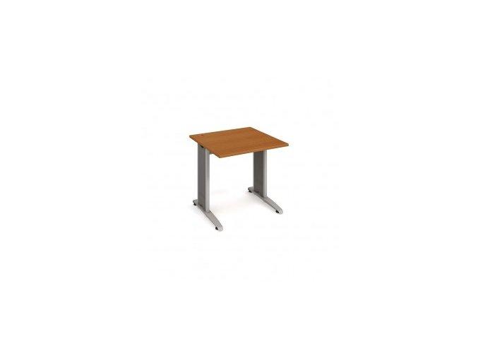 Psací stůl do ordinace MEDIC 3 rovný 75 cm kovová podnož