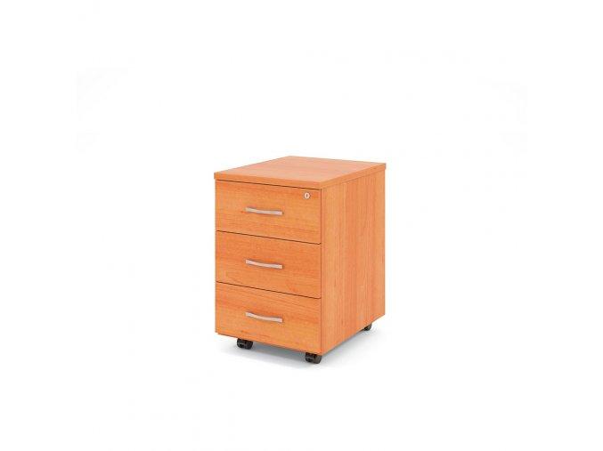 Kancelářský kontejner na kolečkách 3 zásuvky KLASIK