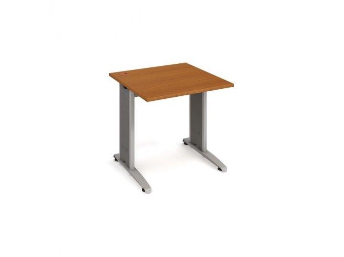 Psací stůl do ordinace MEDIC 1 kovová podnož 75 cm