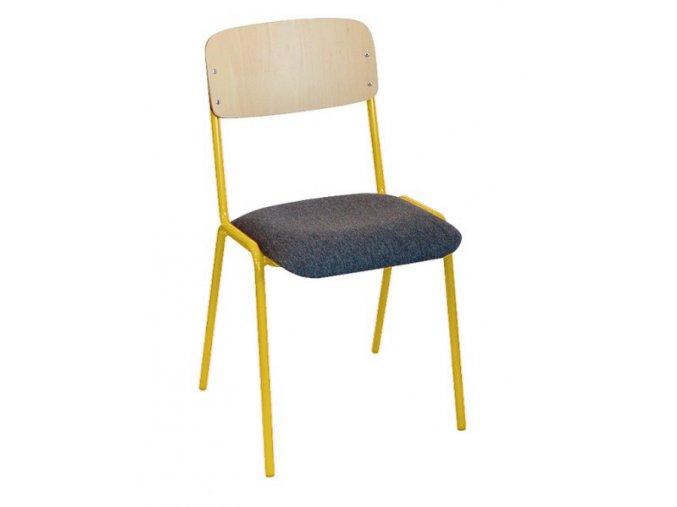 Školní židle učitelská pevná