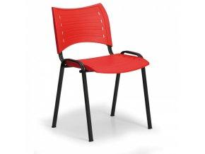 Plastová židle ALBA SMART plastová, stohovatelná