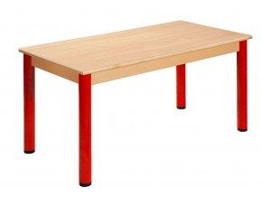 Dětský stůl PÉŤA hranatý 80x60 cm