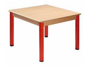 Dětský stůl PAVLÍK hranatý 80x80 cm