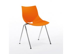 Plastová židle Sedia SHELL chrom