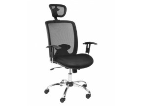 Kancelářská židle SEDIA W-81C s područkami