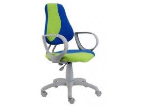 Dětská rostoucí židle ALBA Fuxo s područkami