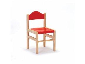 Židle buková výška 26 cm