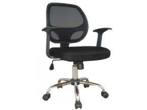 Kancelářská židle SEDIA W 118 s područkami