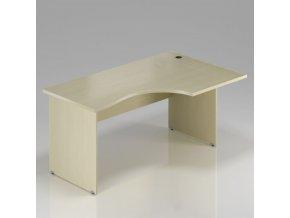 Rohový stůl GAMA na deskové podnoži 180x100 cm, pravý