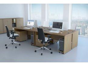 Kancelářská sestava GAMA 4