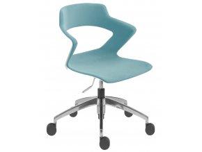 Plastová židle ANTARES 2160 PC Aoki ALU