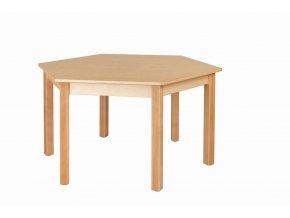 Dětský stůl NATÁNEK šestistranný průměr 120 cm