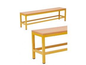 Školní šatní lavička