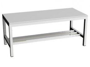 Šatní lavička s roštěm 100 cm