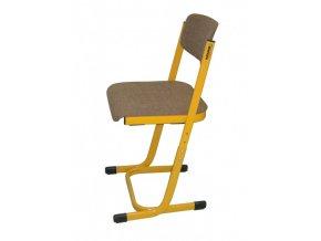 Školní učitelská židle, výškově stavitelná, 3-5