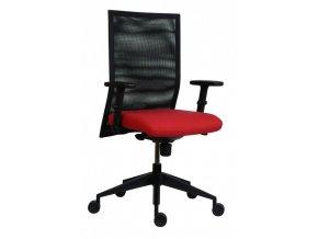 Kancelářská židle ANTARES 1700 SYN René Net s područkami AR 08
