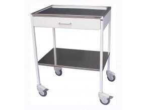 Zdravotnický stolek nástrojový se zásuvkou