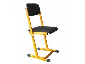 Školní učitelská židle, výškově stavitelná, 5-7