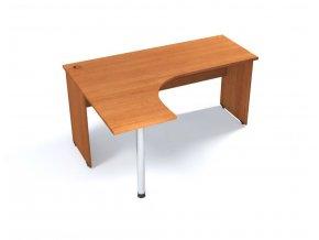 Rohový stůl VERONA na deskové podnoži 160x120 cm, levý