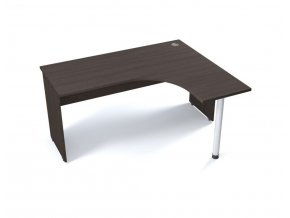 Rohový stůl VERONA na deskové podnoži 160x120 cm, pravý