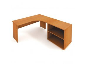Rohový stůl VERONA se skříňkou 160x200 cm, P/L