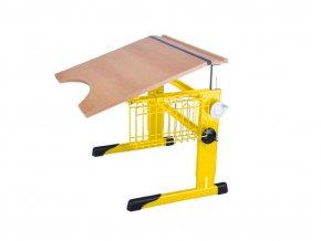 Školní lavice pro tělesně postižené stavitelná