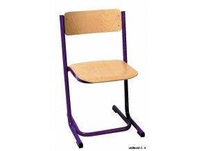 Školní židle dětská pevná