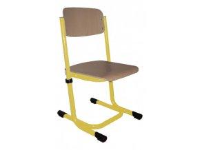 Školní židle dětská stavitelná