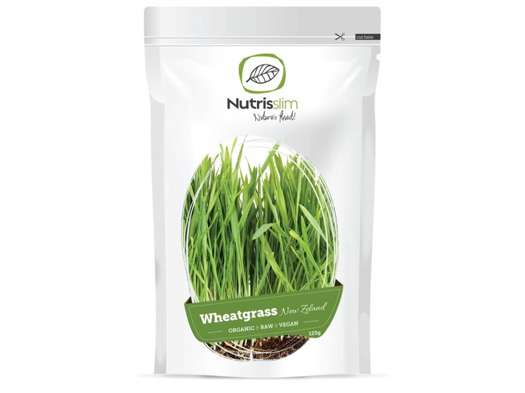 Nutrisslim Bio Wheatgrass Powder New Zealand 125 g
