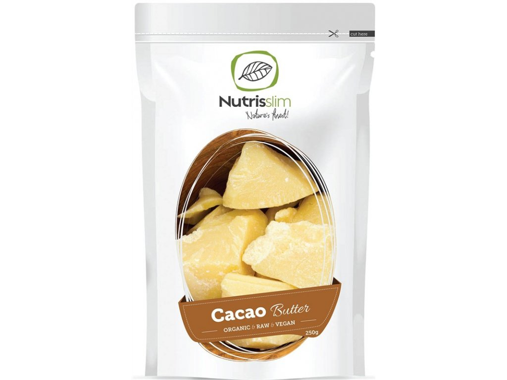 Cacao Butter 250g Bio